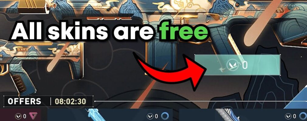 how to get free skins in valorant nNimIXEcqOA