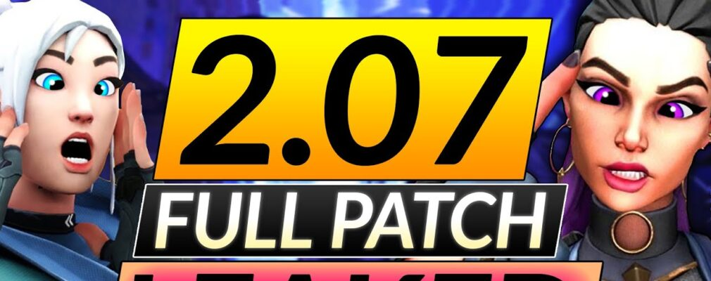 patch 2 07 leaked 8211 these buffs will destroy the ranked meta 8211 valorant pro guide TYDLtOKgjcY