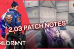 valorant 2 03 patch notes pqLcaqmcoAw