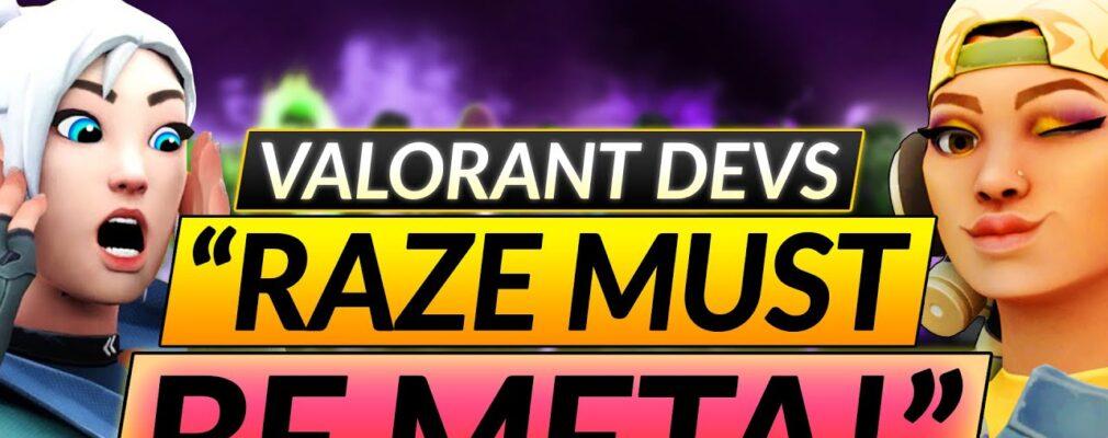 valorant devs 8220 raze will soon be a monster 8221 8211 crazy upcoming buffs and nerfs 8211 update guide 8VfBDH5d8LI