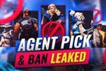 valorant massive leaks agent pick 038 ban leaked X1tSRlm3PtM