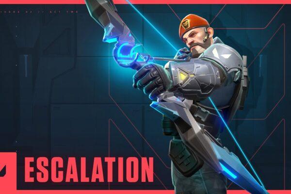 valorant unleash your arsenal escalation game mode trailer iwCdxfz8kMU